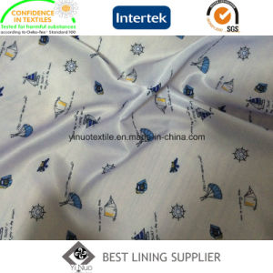 100 Polyester Women′s Jacket Coat Printed Lining Fabric Patterns pictures & photos