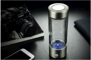 Hydrogen Rich Water Cup Silver Color H2 Combined with Oxygen Anti -Oxidant Hydrogen Water Cup Maker pictures & photos