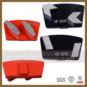 Various Types Diamond Grinding Shoes for Concrete Floor pictures & photos