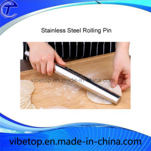 Sale Factory Price Newest Stainless Steel Rolling Pin pictures & photos
