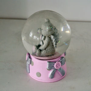 OEM Resin Animal Owl Snow Globe for Home Deco pictures & photos