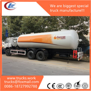 LPG Transportation Gas Delivery Truck Propane Bobtail Truck pictures & photos