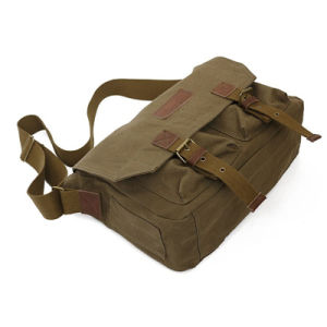 Top Sale Latest Fashion Canvas Messenger Bag pictures & photos