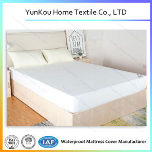 Wholesale 135GSM Cotton Terry Waterproof Mattress Cover pictures & photos