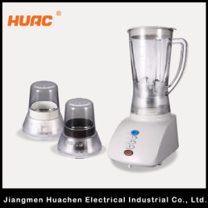 Hc205-B-3 Blender Kitchenware Push Button Plastic Jar 3in1 pictures & photos