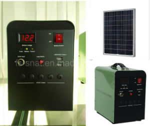 Portable 30W 50W 100W Solar Energy System Solar Panel Kits for Home Lighting System pictures & photos