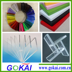 Colored 10mm Acrylic Plate, Acrylic Material PMMA Sheet pictures & photos