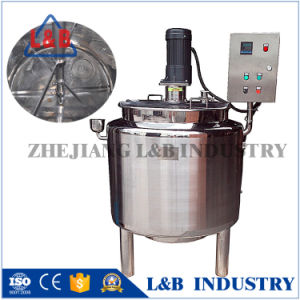 Jacketed Mixing Machine for Lotion, Industrial Shampoo Tank with Agitator pictures & photos