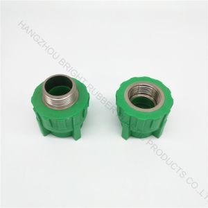 Hight Quality Injection Plastic Joint with Screw Thread Customized pictures & photos
