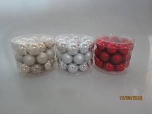 Set 27 Glass Ball for Christmas Decoration pictures & photos