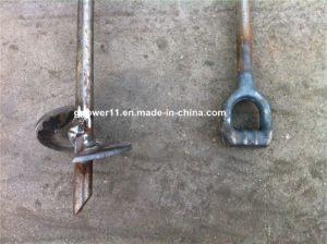 Plain Ground Screw Pole Anchor Earth Anchor Ground Screw Post Anchor pictures & photos