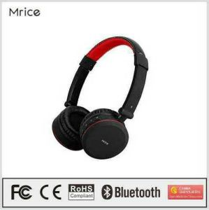 Mrice New Product Bluetooth Headphone Stereo Headset with Power Amplifier