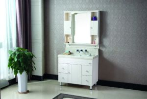 Multi-Layer Solid Wood Sanitary Ware Bathroom Vanity