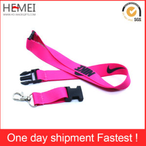 Tubular Printed Lanyard with PVC Card Holder pictures & photos