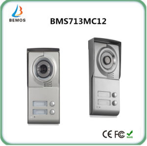 """Wired 7"""" Color Touch Button Design Low Power Video Intercom Door Phone Doorbell pictures & photos"""