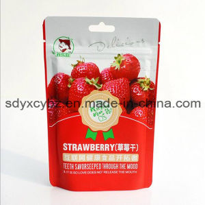 SGS Approved and Stand up Ziplock Dried Fruit Food Bag with Handhole pictures & photos