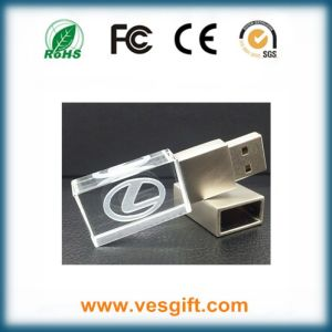 Crystal/Glass Premium Gift USB Flash Drive in Tin Box pictures & photos