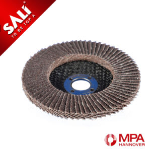 High Quality Abrasive Calcined Polishing Coated Flap Wheel pictures & photos