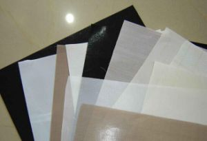 Surface Anti Adhesive PTFE High Temperature Cloth pictures & photos