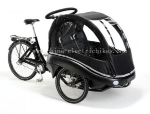 2017 New Family Cargo Bikes with Kids Seats (DT-028) pictures & photos