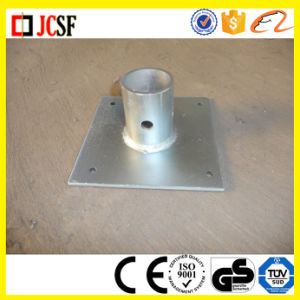 Powder Coated/Electro Plated Scaffold Steel Shoring Base Plate for Scaffold Frames pictures & photos