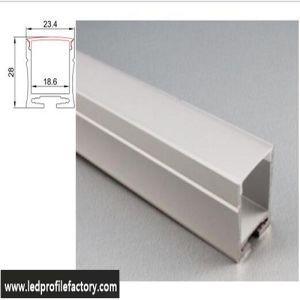 4211 LED Aluminium Channel Strip Light Diffuser LED Aluminium Profile pictures & photos