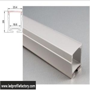 4211 LED Aluminium Profile Extrusion Linear Pendant Indoor Light pictures & photos