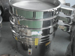 Stainless Steel Circular Rotary Vibrating Sieve for Powder and Granules pictures & photos