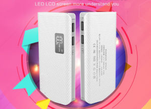 10000mAh Portable Power Bank with LED Light pictures & photos