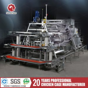Silver Star Supreme Quality Automatic Layer Chicken Cage for Sale pictures & photos
