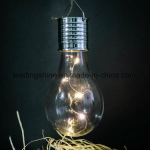 Solar Panel Powered Edison Bulb Light pictures & photos