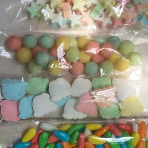 OEM Color Jelly Beans, Decorative Circle Candy