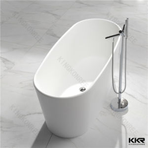 Various Design Solid Surface Pedestal Two Person Bathtub pictures & photos