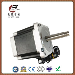Small Nosie Vibration Stepper Motor 86*86mm NEMA34 for CNC pictures & photos