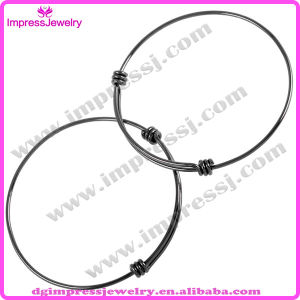 Ijb0459 Shiny Expandable Wire Bracelet Stainless Steel Bangle for Women pictures & photos
