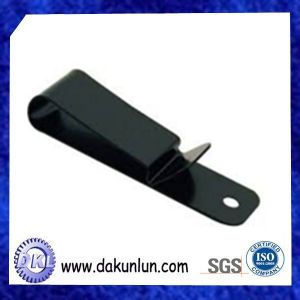 China Custom Metal Holster Belt Spring Clip pictures & photos