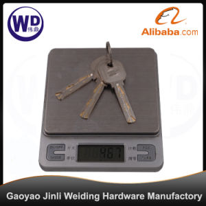 Economic Aluminum Glass Door Lock & Glass Hardware pictures & photos