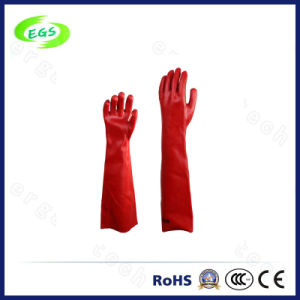 China Factory Supply Long Arm Anti-Acid Rubber Gloves pictures & photos