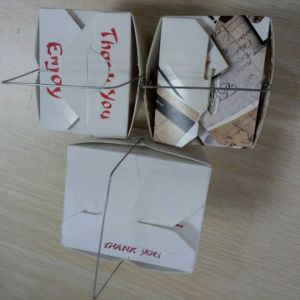 New Design with Iron Wire Paper Box Machine pictures & photos
