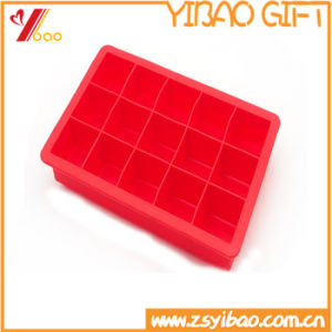 2017hot Sales FDA / Certification Ketchenware Silicone Ice Cube with Rubber Cube Tray (YB-HR-130) pictures & photos