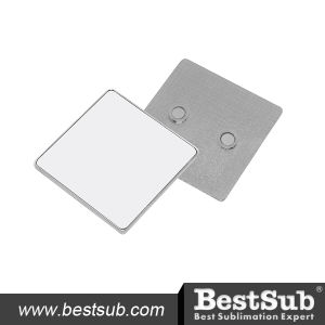 Bestsub Square Metal Sublimation Fridge Magnet (MP03) pictures & photos