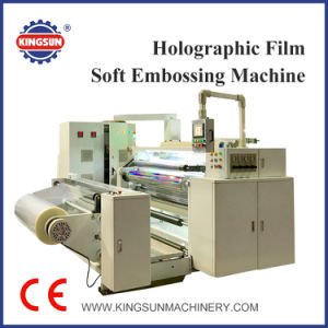 Holographic Film Soft Embossing Machine for Hologram Film pictures & photos