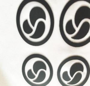 DIY Your Own Brand Heat Transfer Silicone, Silicone Logo for Label pictures & photos