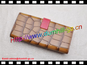 Nice Aligater Lady Clutch Purse for Evening Party pictures & photos