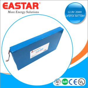 12V Slim Battery Rechargeable 12V 10ah LiFePO4 Battery Pack for Storage or Solar Power pictures & photos
