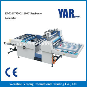 Top Sale Semi-Automatic Thermal Film Laminating Machine for Single Side Paper pictures & photos