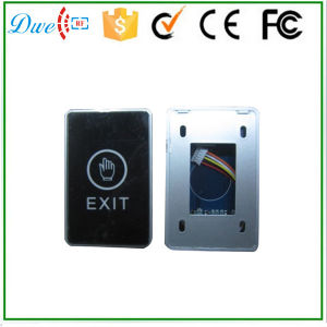 No/Nc/COM out Put Infrared Sensor Touch Screen Door Release Exit Button for Access Control pictures & photos