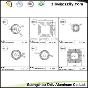 Guangzhou Zhilv Aluminum Profile Extrusion Heat Sink for Light pictures & photos