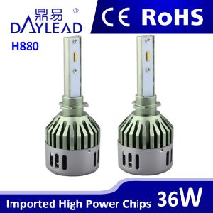 Auto Headlight 880 Aluminum Radiator LED Headlight for Cars pictures & photos