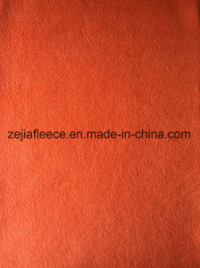 100% Polyester DTY Micro Polar Fleece Fabric pictures & photos